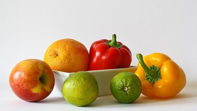 פירות וירקות בריאים