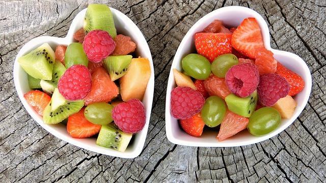 מגש פירות אורגניים