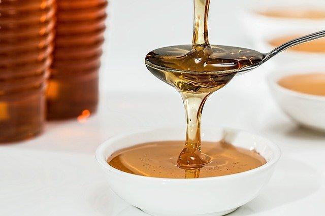 Cleaned honey